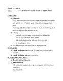 Giáo án Tin học 11 bài 2: Các phần của ngôn ngữ lập trình