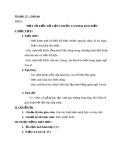 Giáo án Tin học 11 bài 4+5: Một số dữ liệu chuẩn. Khai báo biến