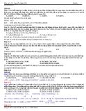 Andehit axit cacboxylic trong đề thi đại học qua các năm 2007 - 2013