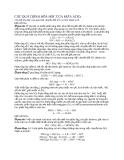 Quá trình hóa học của mưa Acid