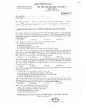 Đề thi thử Đại học lần 7 môn Lý năm 2013 - Trường THPT chuyên ĐHSP Hà Nội (Mã đề 171)