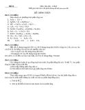 Bộ đề thi học sinh giỏi lớp 8 môn Hóa học có hướng giẫn giải
