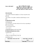 Bài 22: Tác giả và tác phẩm của Mỹ thuật VN - Giáo án Mỹ thuật 7 - GV.N.Văn Chung