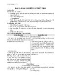 Giáo án Địa lý 5 bài 11: Lâm nghiệp và thủy sản