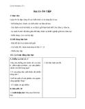Giáo án Địa lý 5 bài 22: Ôn tập