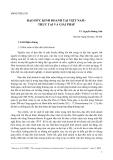 Luận văn: Đạo đức kinh doamh tại Việt Nam - Thực trạng và giải pháp