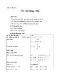 Giáo án bài Ôn tập bảng chia - Toán 3 - GV.Ng.P.Hùng