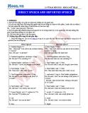 Chuyên đề ôn thi Đại học môn Anh: Direct speech and reported speech (Cô Vũ Thu Phương)