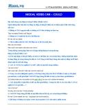 Chuyên đề ôn thi Đại học môn Anh: Modal verbs (Can – Could) - Cô Vũ Thu Phương