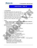 Chuyên đề ôn thi Đại học môn Anh: Adjectives (Tính từ) - Cô Vũ Thu Phương