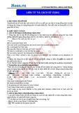 Chuyên đề ôn thi Đại học môn Anh: Liên từ và cách sử dụng - Cô Vũ Thu Phương