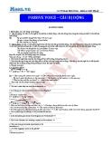 Chuyên đề ôn thi Đại học môn Anh: Passive voice (Câu bị động) - Cô Vũ Thu Phương