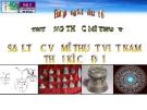 Bài giảng  Sơ lược về Việt Nam thời kì cổ đại - Mỹ thuật 6 - GV.N.Hồng Nhung
