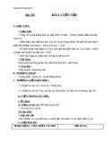 Giáo án bài Bài luyện tập 7 - Hóa 8 - GV.N Nam
