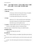 Giáo án bài Bài thực hành 1 Tính chất nóng chảy của chất - Hóa 8 - GV.N Nam