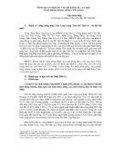 Tổng quan một số vấn đề kinh tế - xã hội vùng Đồng bằng sông Cửu Long - Trần Hữu Hiệp