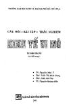 Câu hỏi bài tập trắc nghiệp Kinh tế vi mô -  NXB Tổng hợp TPHCM