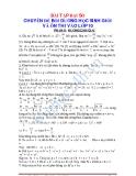 Đại số lớp 9: Bài tập chuyên đề bồi dưỡng học sinh giỏi Đại số 9 - phần 2