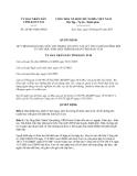 Quyết định số 24/2013/QĐ-UBND tổ chức các kỳ thi và bồi dưỡng đội tuyển học sinh giỏi