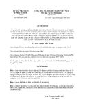 Quyết định số: 880/QĐ-UBND