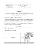 Quyết định số 10/2013/QĐ-UBND Quy định mức chi phục vụ các kỳ thi