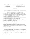 Quyết định 784/QĐ-LĐTBXH năm 2013