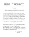 Quyết định 03/2013/QĐ-UBND