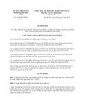 Quyết định số: 1438/QĐ-UBND