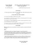 Quyết định 16/2013/QĐ-UBND về Quy định dạy thêm, học thêm