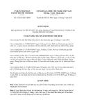 Quyết định số 16/2013/QĐ-UBND về Quy chế tổ chức hoạt động của Sở Giáo dục và Đào tạo