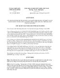 Quyết định 1221/QĐ-UBND năm 2013