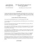Quyết định số 05/2013/QĐ-UBND về Quy định chế độ khen thưởng