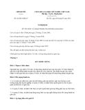 Nghị định 42/2013/NĐ-CP