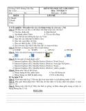 14 Đề kiểm tra HK1 môn Tin học lớp 9 (2012- 2013)