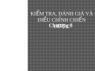 Bài giảng Quản trị chiến lược (ThS.Lê Thị Bích Ngọc) - Chương 8: Kiểm tra, đánh giá và điều chỉnh chiến lược