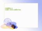 Bài giảng Quản trị học (Lê Thị Bích Ngọc) - Chương 9: Chức năng kiểm tra