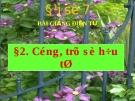 Bài giảng Đại số 7 chương 1 bài 2: Cộng, trừ số hữu tỉ