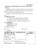 Giáo án Đại số 8 chương 2 bài 9: Biến đổi các biểu thức hữu tỉ. Giá trị của phân thức