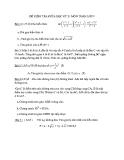 Đề kiểm tra giữa HK2 Toán 9 (Kèm đáp án)