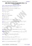 Luyện thi Đại học Toán chuyên đề: Kỹ thuật sử dụng bất đẳng thức Cosi - Thầy Đặng Việt Hùng