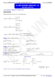 Luyện thi Đại học Toán chuyên đề: Bất phương trình mũ - Thầy Đặng Việt Hùng