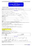 Luyện thi Đại học Toán chuyên đề: Công thức Logarit - Thầy Đặng Việt Hùng
