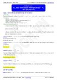 Luyện thi Đại học Toán chuyên đề: Tiếp tuyến của đồ thị hàm số - Thầy Đặng Việt Hùng