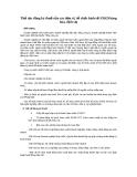 Thủ tục đăng ký thuế của các đơn vị, tổ chức kinh tế sản xuất kinh doanh hàng hóa, dịch vụ