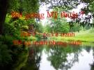 Bài giảng Vẽ tranh phong cảnh - Mỹ thuật 7 - GV.Dương Hiếu Nghĩa