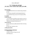 Giáo án bài Sơ lược mỹ thuật thời Trần (1226 - 1400) - Mỹ thuật 7 - GV.Dương Hiếu Nghĩa
