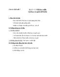 Giáo án Mỹ Thuật 7 bài 9: Vẽ theo mẫu lọ hoa và quả (tt)