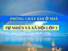 Slide bài Phòng cháy khi ở nhà - Tự Nhiên Xã Hội 3 - GV.H.T.Minh