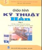 Giáo trình Kỹ thuật hàn (Tập 1) - Trần Văn Mạnh (Biên soạn)
