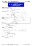 Luyện thi Đại học môn Toán: Phương pháp tính tích phân - Thầy Đặng Việt Hùng